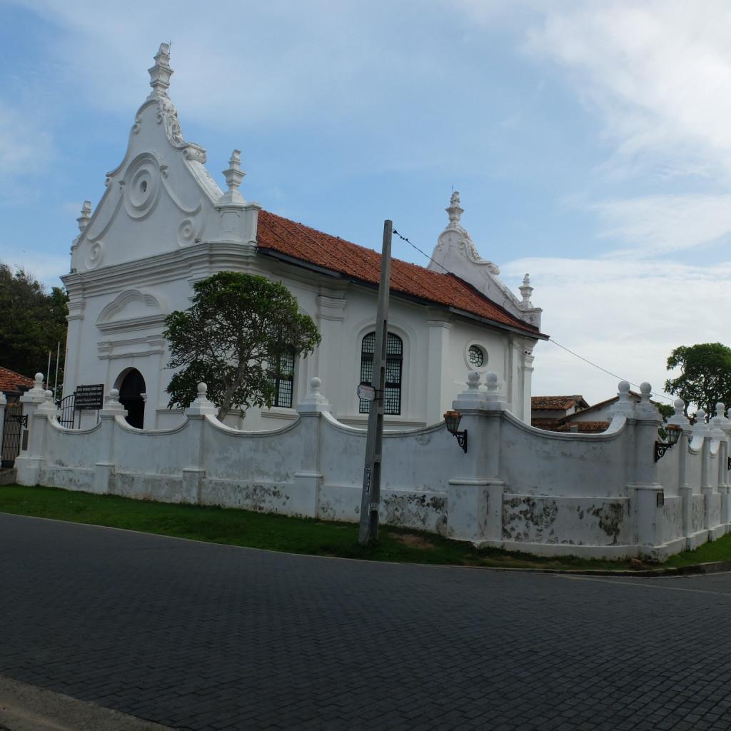 Eglise réformée hollandaise du vieux fort de Galle